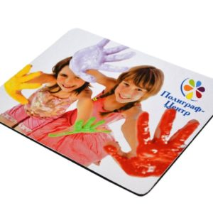 Печать на коврике для мыши