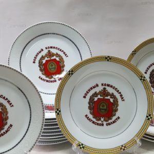 Сублимация на тарелке