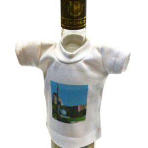 Мини-футболка на бутылку